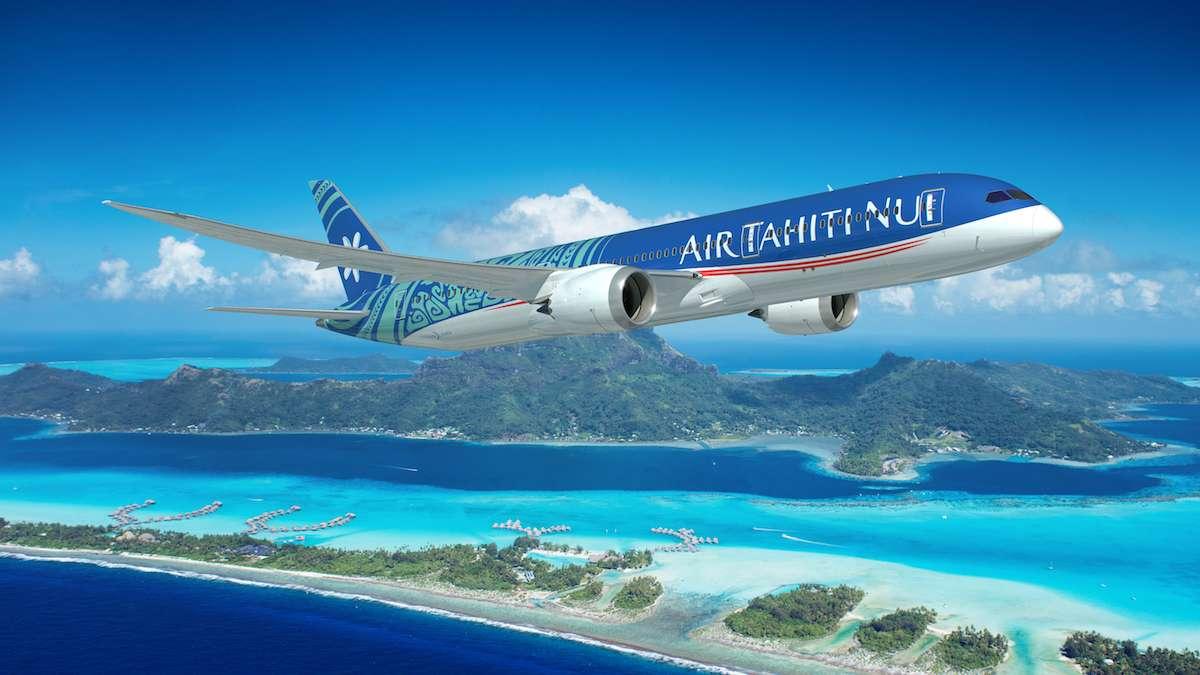 Partenaire Platinum du Digital Festival Tahiti : Air Tahiti Nui
