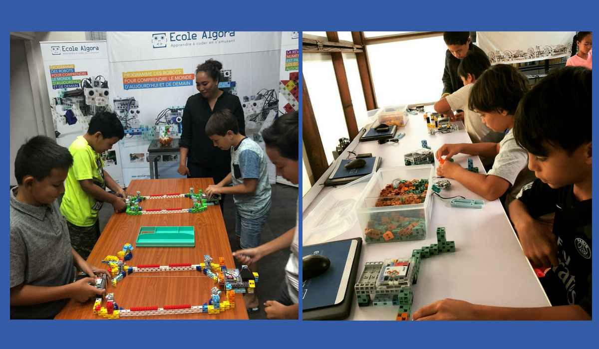 Our exhibitors at the Digital Festival Tahiti 2018: Algora school