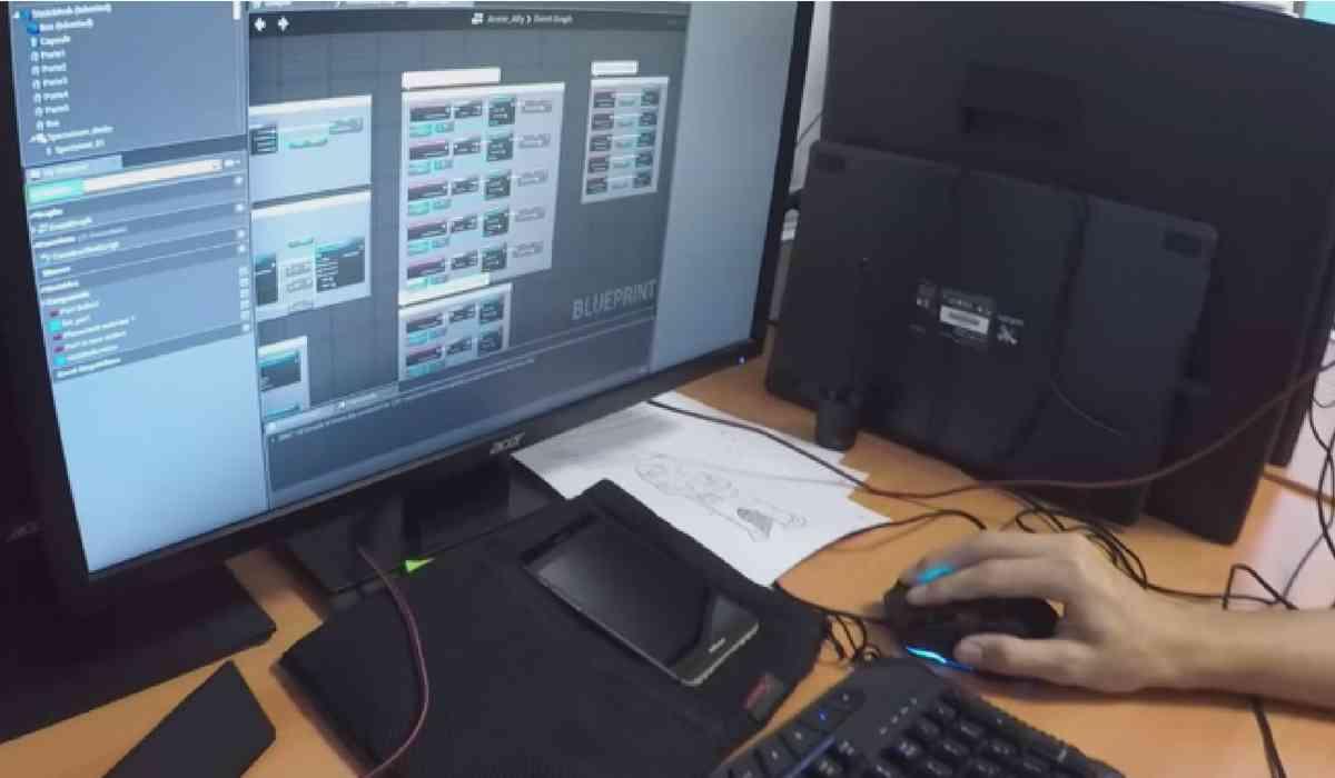 Nos exposants au Digital Festival Tahiti 2018 : l'école Poly3D au travail