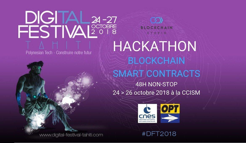Le Digital Festival Tahiti 2018 et Blockchain Studio co-organisent le premier Hackathon Blockchain - Smart Contracts de Polynésie