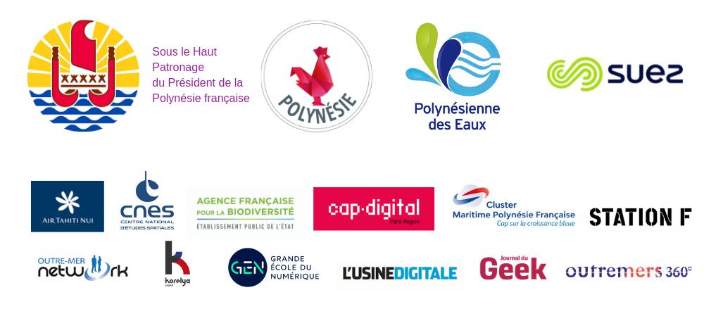 Les partenaires des Tech4Islands Awards