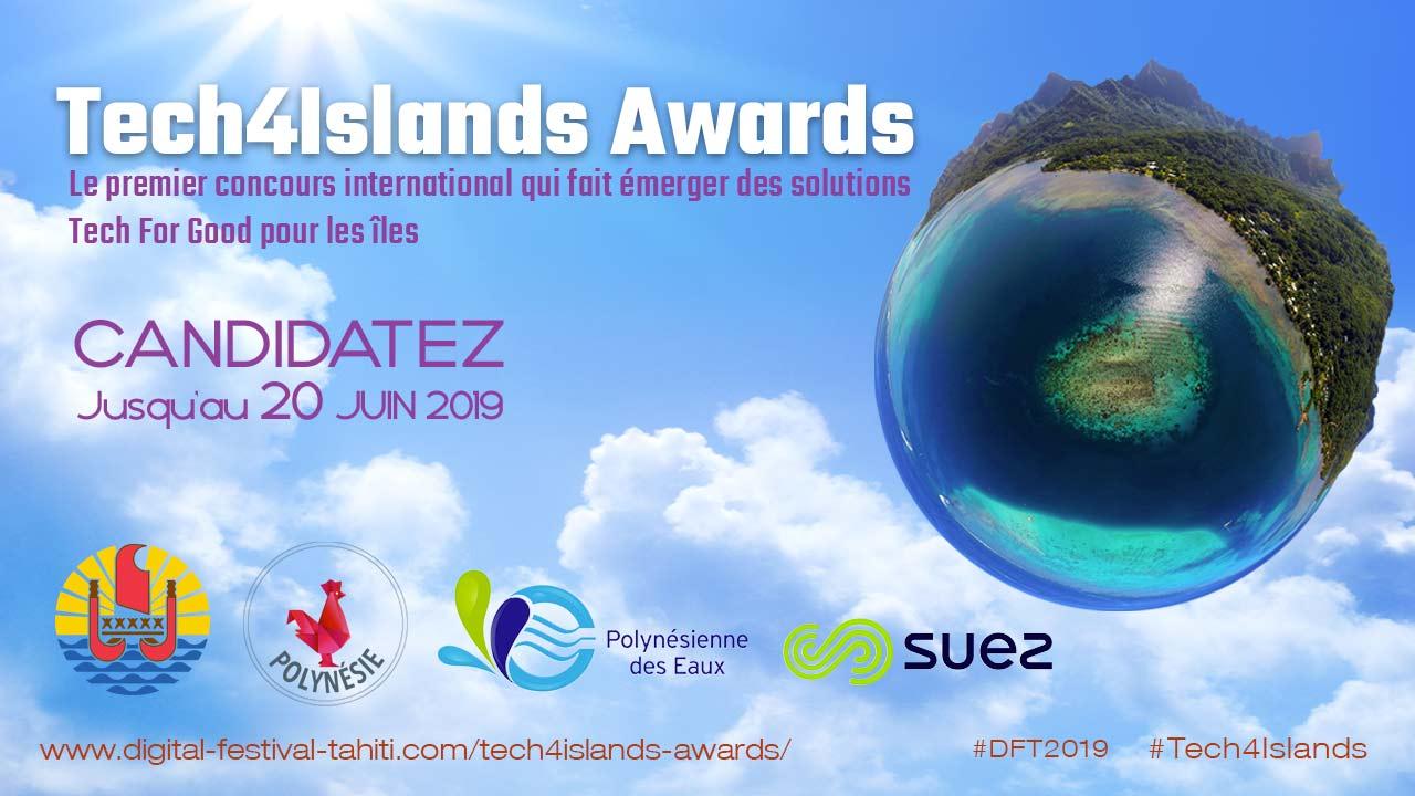 Tech4Islands Awards, Le premier concours international francophone qui fait émerger des solutions Tech For Good pour les îles