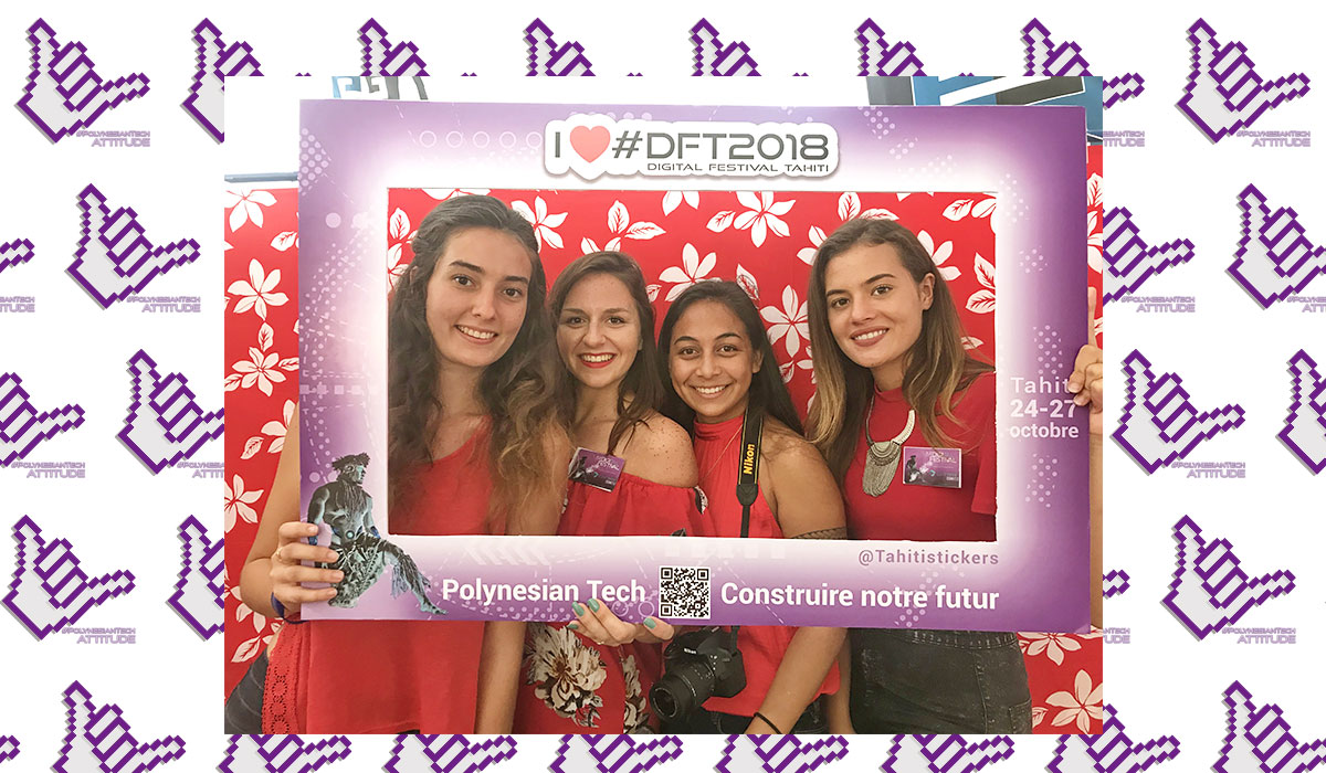 Exposant au Digital Festival Tahiti - Tech4Islands : Tahiti Stickers
