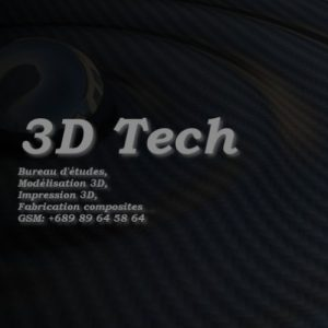 Exposant au Digital Festival Tahiti - Tech4Islands : 3D Technologie