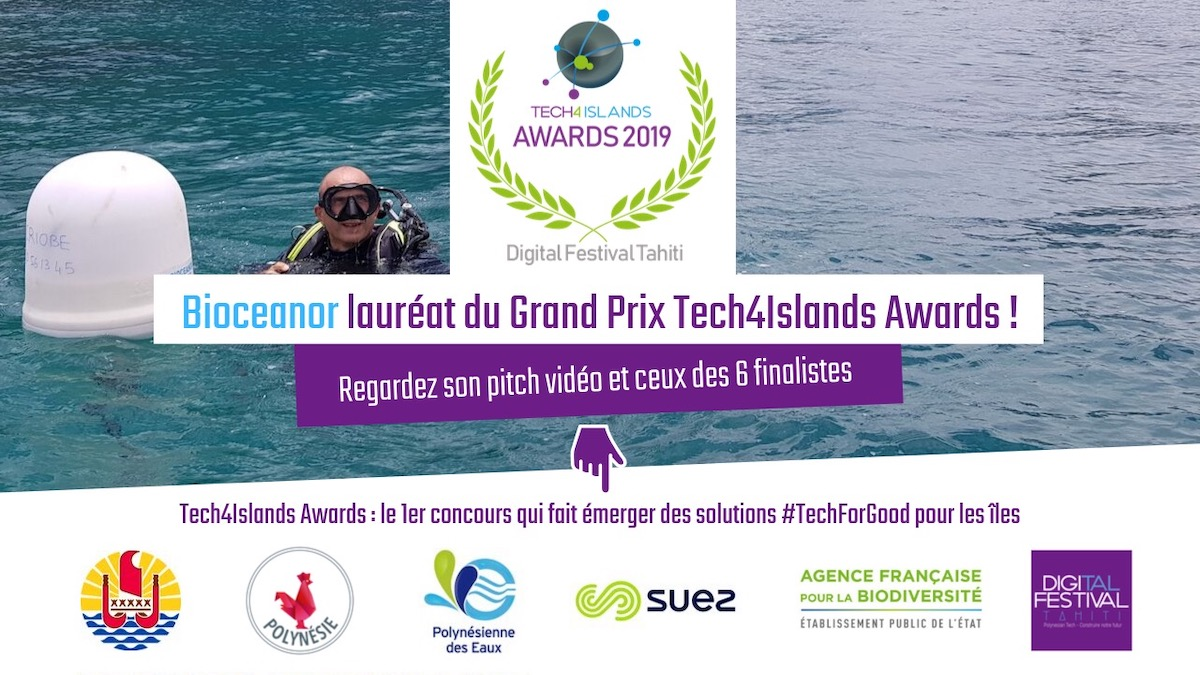 Bioceanor, Lauréat du Grand Prix Tech4Islands Awards 2019