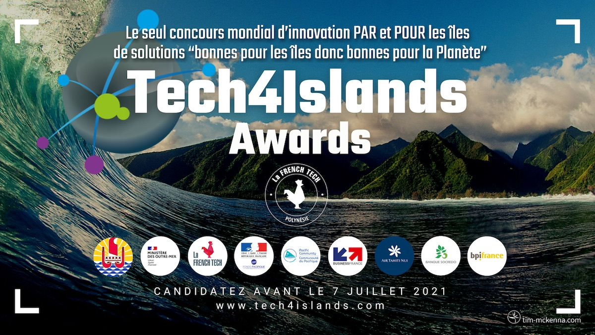 Tech4Islands Awards 2021, the only global innovation competition BY and FOR the islands