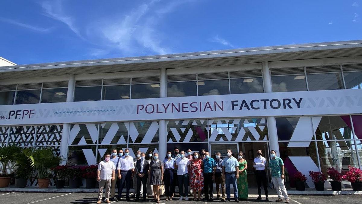 Entrée Polynesia Factory